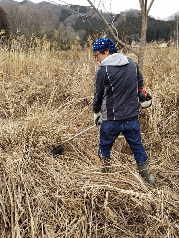 【南山城村耕作放棄地再生PJ】草刈りとドローンを活用した測量!