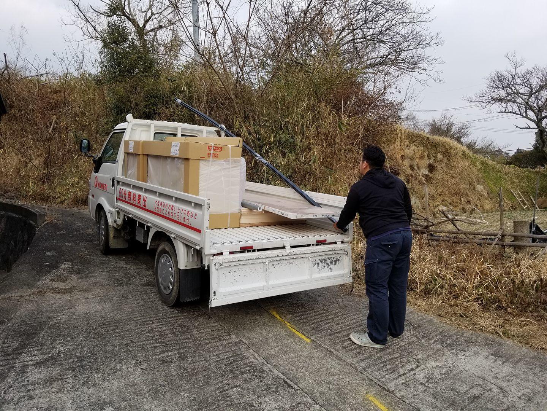 【村内拠点リノベ】  全ての資材搬入完了!  後は細かいところと、インテリアで完成!