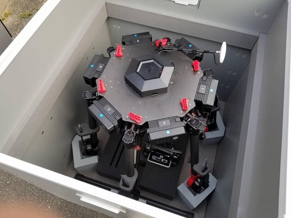 特注の産業・研究用のドローンのケース完成!