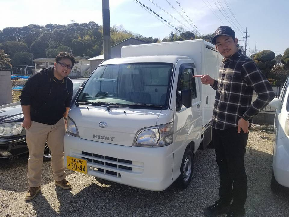 【耕作放棄地再生プロジェクト】保冷車が納車されました!